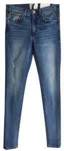 McGuire High Rise Stretch Skinny Jeans-Medium Wash