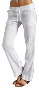 James Perse Relaxed Pants white