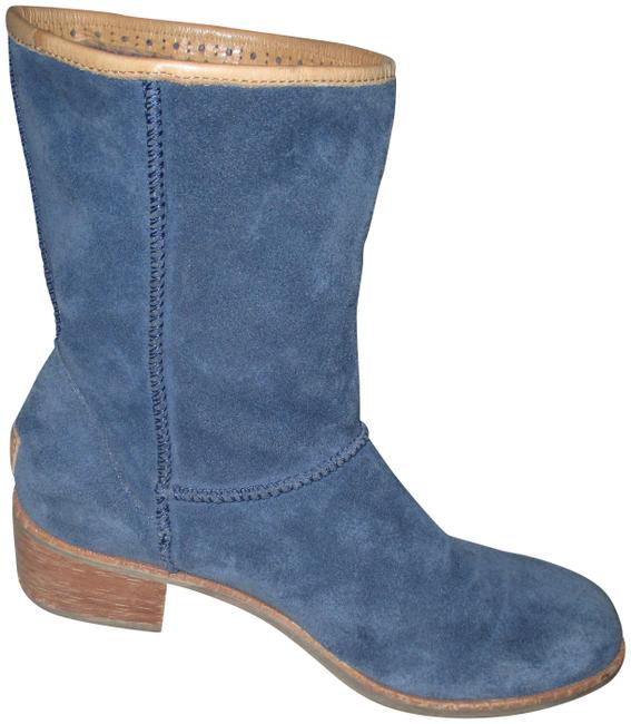 Item - Blue Cyrinda Unlined Suede S/N 1004366 Boots/Booties Size US 8.5 Regular (M, B)
