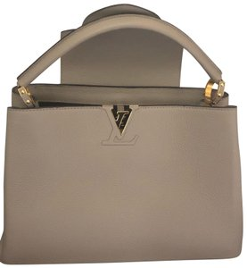 Louis Vuitton Satchel in Taupe Grey