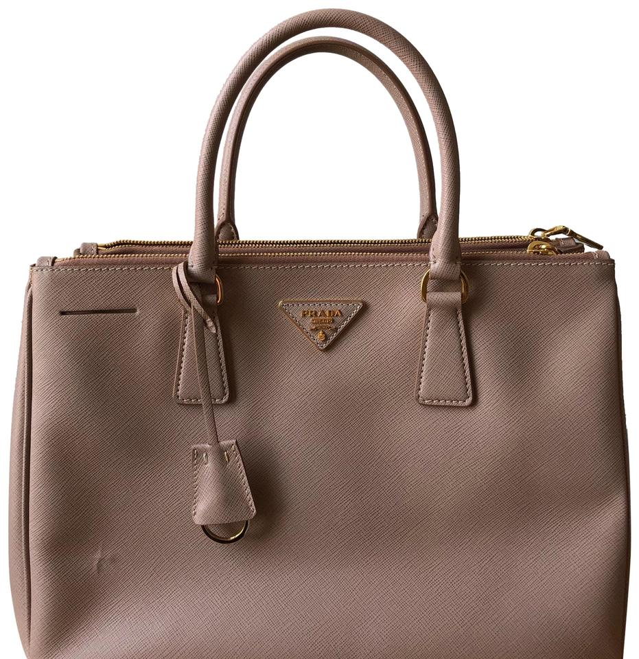 Prada Galleria Medium Saffiano Tote Blush Nude Leather Satchel - Tradesy d70cd623dbdf9