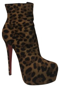 Christian Louboutin Ankle Sexy Leopard Boots