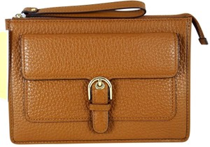 Michael Kors Leather 190049725825 Wristlet in Luggage