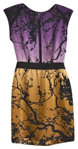 Dolce Vita New Nwot Abstract Print Ombre Dress