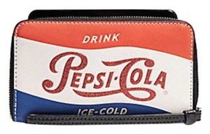 Coach COACH PHONE WALLET WITH PEPSI® MOTIF F28389