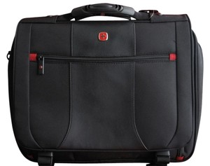 Wenger Quality Black Messenger Bag