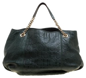Carolina Herrera Leather Hobo Bag