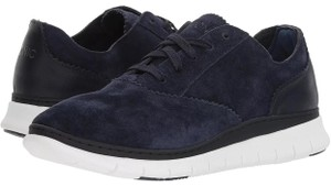 Vionic Navy Blue Suede Athletic