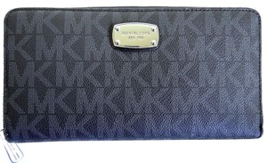 Michael Kors Wallet Pvc 889154941977 Wristlet in Black
