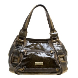 Jimmy Choo Patent Leather Tote in Yellow