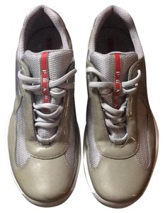Prada grey silver Athletic
