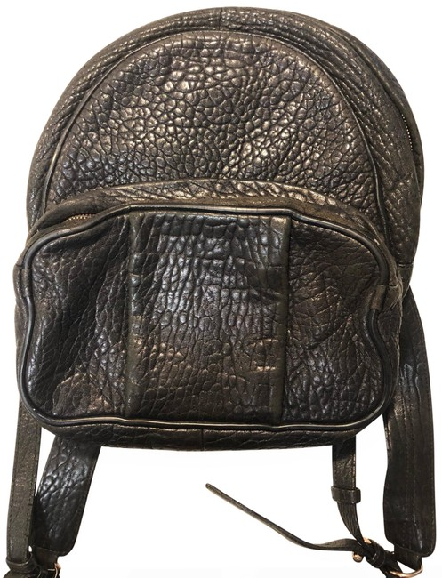 Item - Dumbo Black with Rose Gold Hardware Lambskin Leather Backpack
