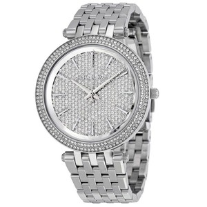 Michael Kors Michael Kors Watch MK3437 Darci Pave Crystal Stainless Steel Watch