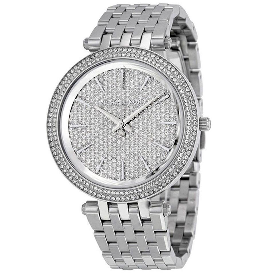 9b65e00f34de Michael Kors Michael Kors Watch MK3437 Darci Pave Crystal Stainless Steel  Watch Image 0 ...