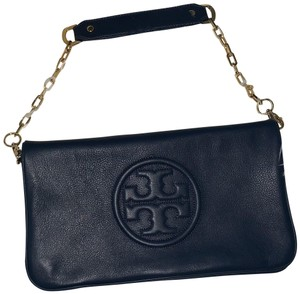 Tory Burch Bombe Navy Reva Tb Hudson Bay (Navy) Clutch