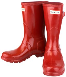 Hunter Rubber Red Boots