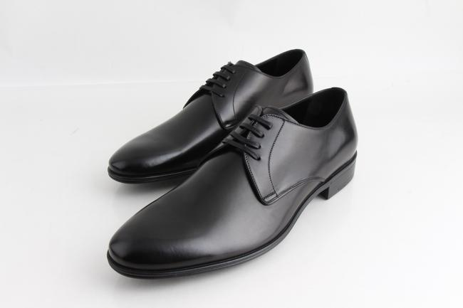Item - Black Dolce & Gabanna Classic Derby Leather Formal Size US 7.5 Regular (M, B)