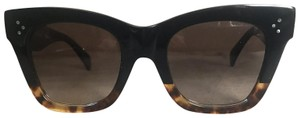 Céline Céline Black Top Havana Bottom Catherine Sunglasses