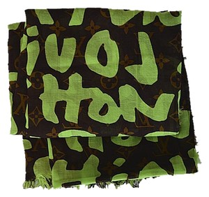 Louis Vuitton Louis Vuitton Stephen Sprouse Limited Edition Scarf