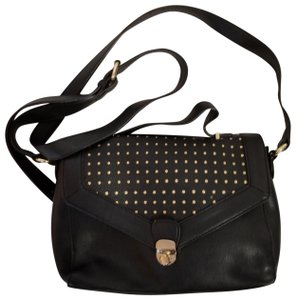 Neiman Marcus Satchel Ps Polka Dot Handbag Cross Body Bag