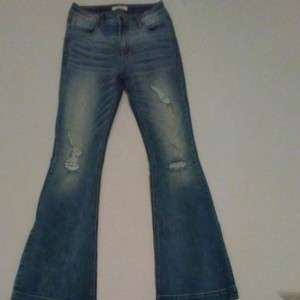 Cello Jeans Boot Cut Jeans-Medium Wash