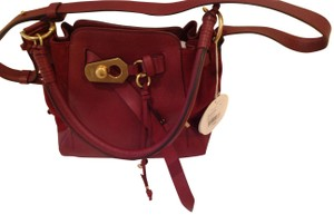 Chloé Leather And Suede Cross Body Bag