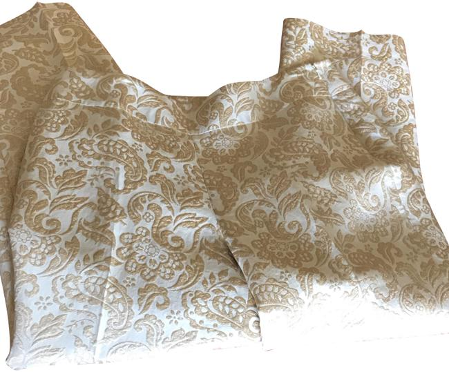 Item - Gold Paisley Pants Size 12 (L, 32, 33)