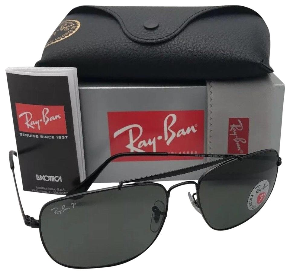 bf83060bfe Ray-Ban Polarized RAY-BAN Sunglasses THE COLONEL RB 3560 002 58 58 ...