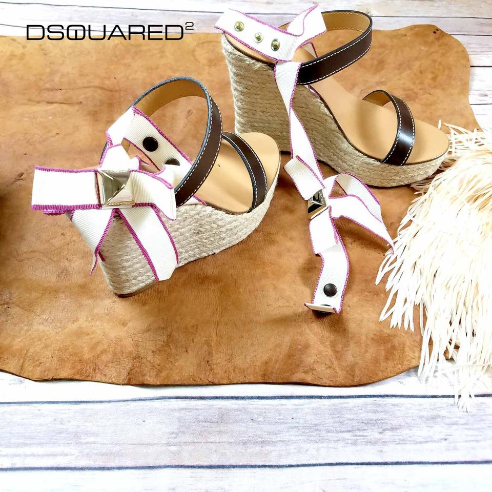 37d48faced7b6 Dsquared2 Espadrilles Ds2 Summer Thong Brown Sandals Image 9. 12345678910