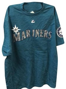 Majestic MLB T Shirt teal