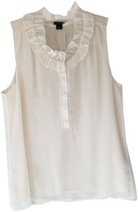 J.Crew Sleeveless Top Ivory