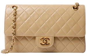 Chanel Vintage Lambskin Flap Shoulder Bag