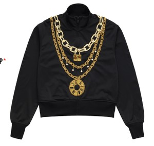 Moschino H&m Jeremy Scott Zip Jacket Sweatshirt