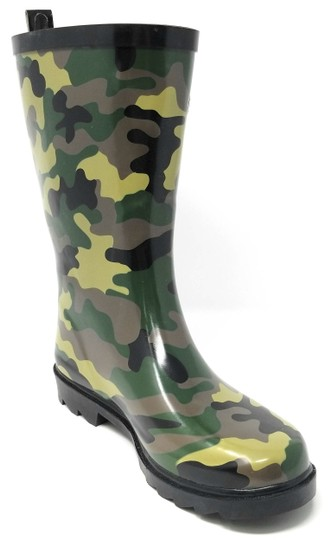 Forever Young Camo Women Rubber Rainboots 6032 Boots