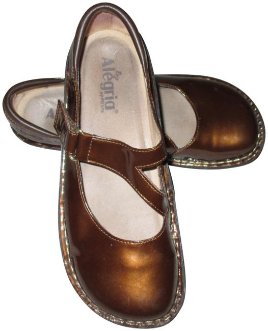 Item - Brown Day-126 Patent Leather Mary Jane /Us 10 Platforms Size EU 40 (Approx. US 10) Regular (M, B)