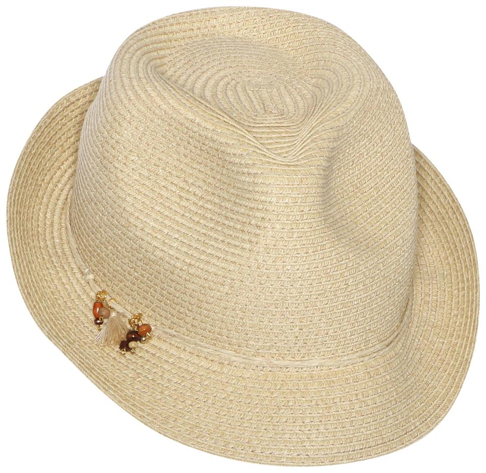 Nine West Brown Charms Packable Fedora Sand Hat - Tradesy 160eb7755e5