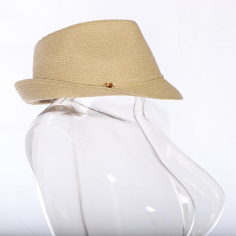 8a73647457c Nine West Brown Charms Packable Fedora Sand Hat - Tradesy