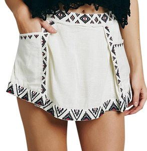 Free People Skort white