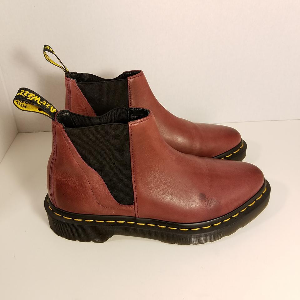 good new design shades of Dr. Martens Wine Bianca Chelsea Boots/Booties Size US 6 Regular (M, B)