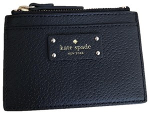 Kate Spade NWT adi grove street leather Credit card/ coin holder