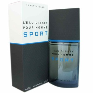 Issey Miyake L'EAU D'ISSEY POUR HOMME SPORT-ISSEY MIYAKE-EDT-3.3 OZ-100ML-FRANCE