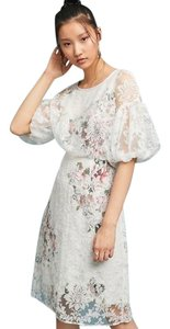 Tracy Reese Anthropologie Embroidered Lace Dress
