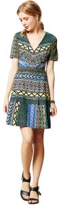 Tracy Reese short dress Multi Anthropologie Pattern Bright A-line on Tradesy