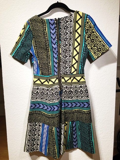 Tracy Reese short dress Multi Anthropologie Pattern Bright A-line on Tradesy Image 1