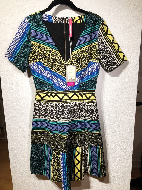 Tracy Reese short dress Multi Anthropologie Pattern Bright A-line on Tradesy Image 2