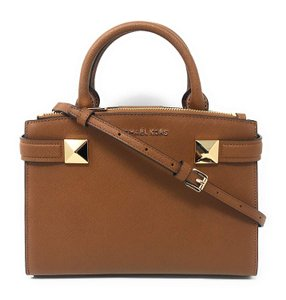 Michael Kors Leather 192317132984 Satchel in Luggage