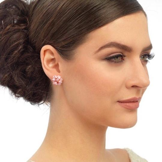 Kate Spade Kate Spade Rose Gold Bourgeois Bow Earrings Image 2