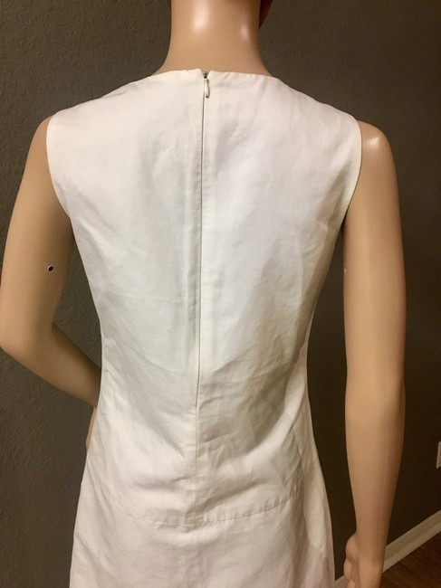Zara short dress White Crew Neck Pockets Lined. on Tradesy Image 5