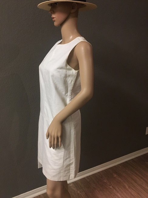 Zara short dress White Crew Neck Pockets Lined. on Tradesy Image 6
