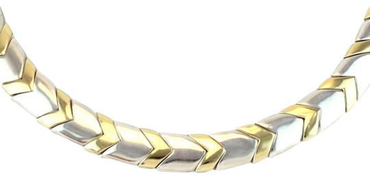 Preload https://img-static.tradesy.com/item/24406260/tiffany-and-co-chevron-18k-yellow-gold-sterling-11mm-wide-collar-necklace-0-1-540-540.jpg